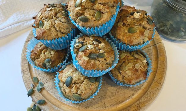 Carrot and Apple Breakfast Muffins